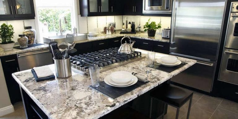 Black And White Granite Countertops