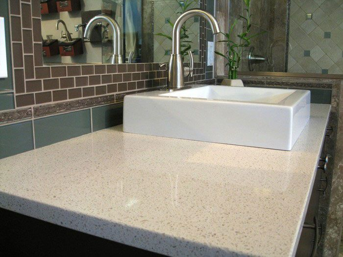 quartz countertops for bathrooms