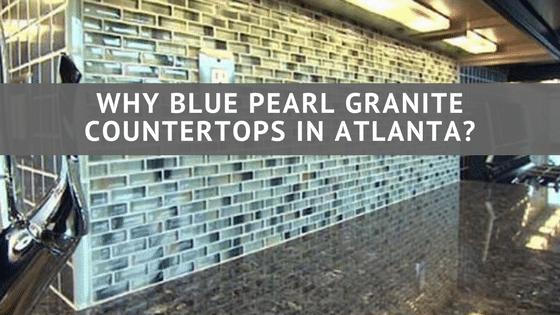 Granitekitchen Why Blue Pearl Granite Countertops In Atlanta