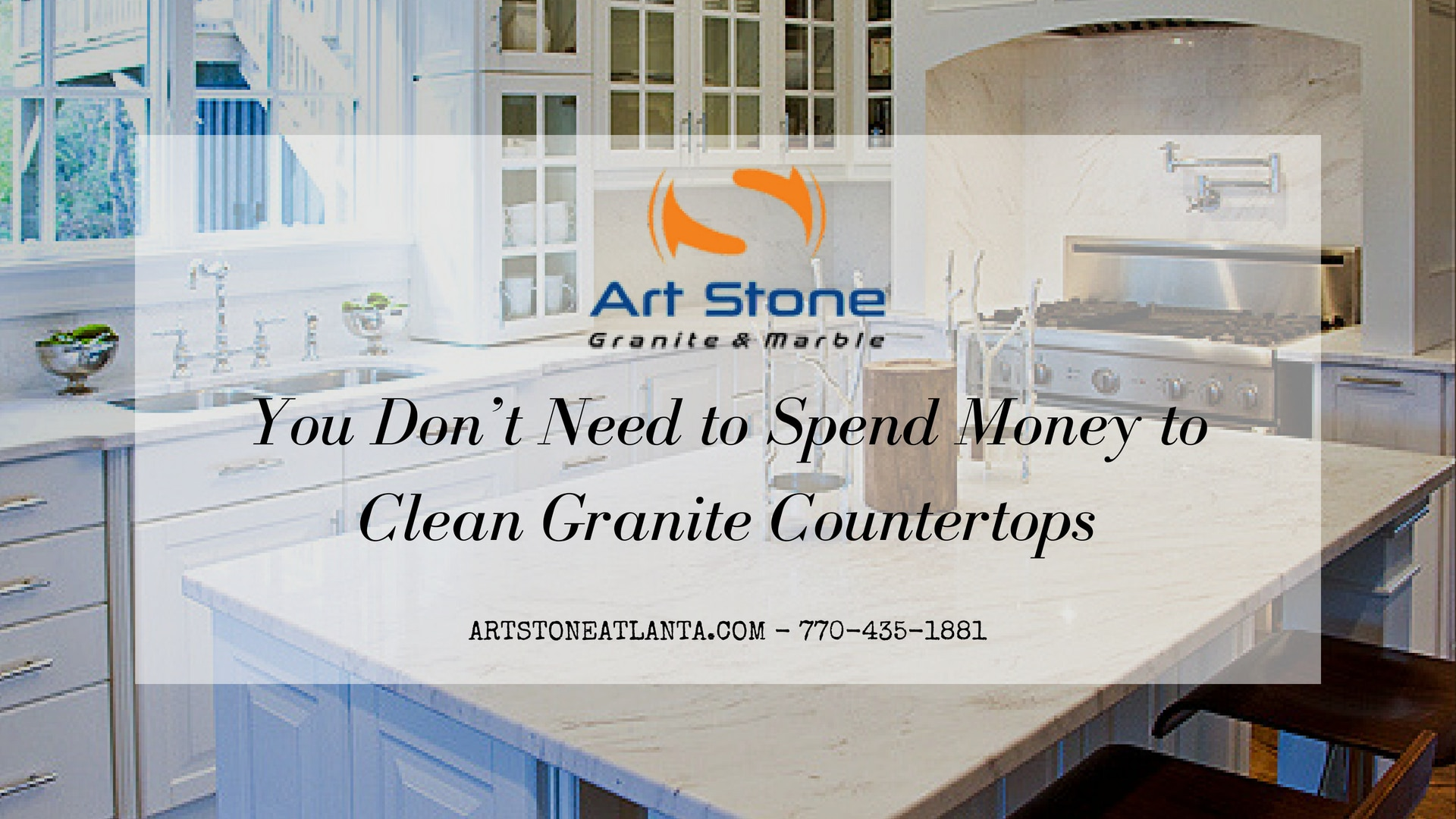 You Don\'t Need to Spend Money to Clean Granite Countertops