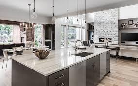 Kitchen Countertops in Quartz