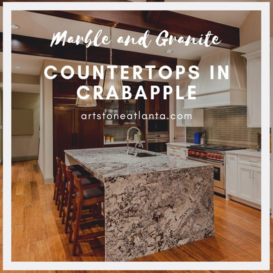 Marble and Granite Countertops in Crabapple