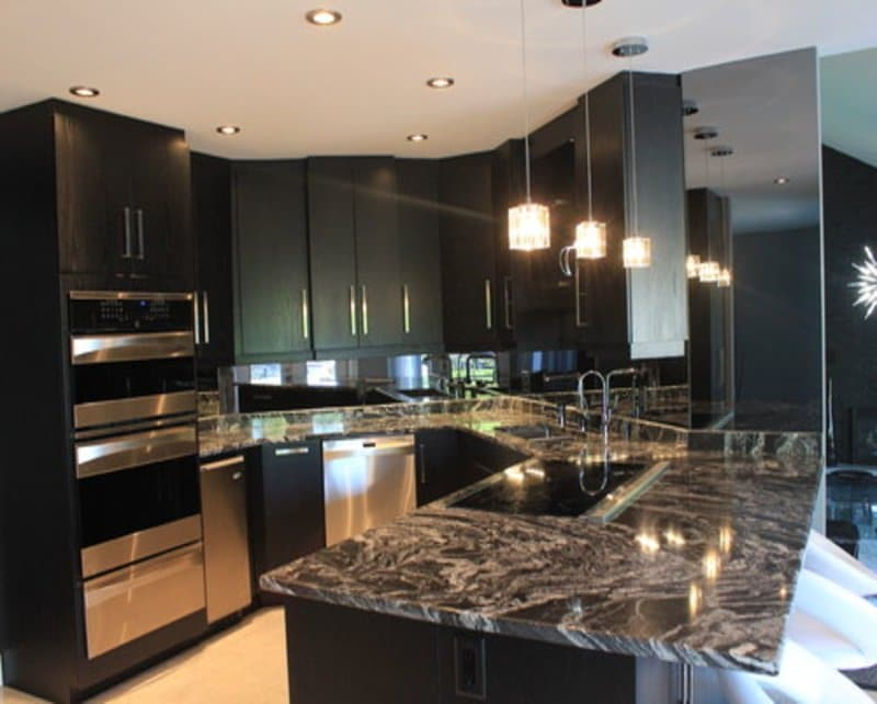 Find Out Why Dark Granite Countertops Are Growing In