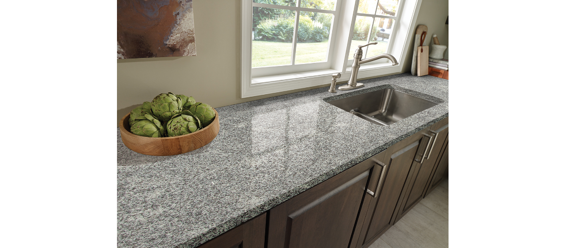 White Sparkle Granite Art Stone
