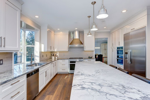 Quartz kitchen countertops in Atlanta
