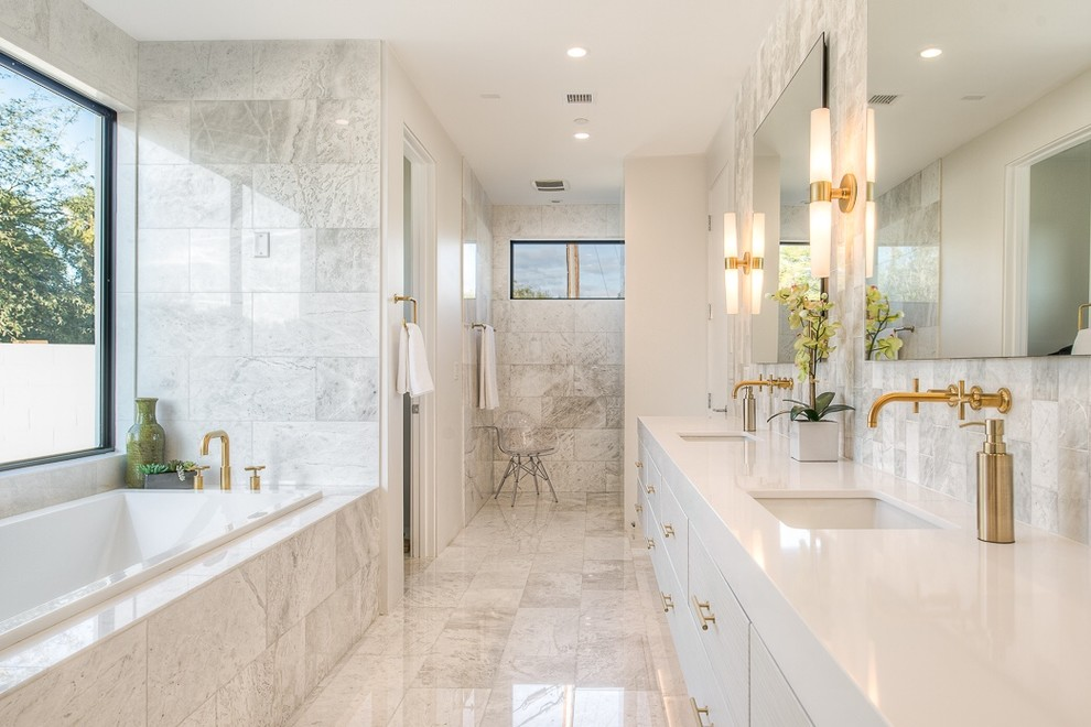 marble for bathroom countertops